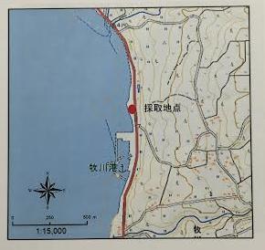 牧川港周辺(種子島) 詳細地図